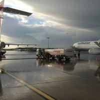 Photo taken at Hamburg Airport Helmut Schmidt (HAM) by Jan-Nicolas H. on 6/23/2013