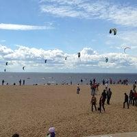 Photo taken at Пляж в Парке 300-летия by Дмитрий С. on 6/12/2013