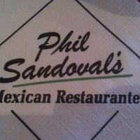 Photo taken at Phil Sandoval's Mexican Restaurante by Jason V. on 12/14/2012