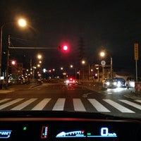 Photo taken at 萬歳橋 by Tiger on 10/22/2013