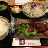 Photo taken at 鉄板焼さち by Tiger on 6/18/2013