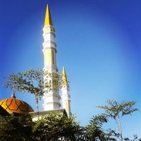 Photo taken at Masjid Agung Baitussalam by Istanti A. on 8/20/2013