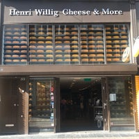Photo taken at Henri Willig Cheese & More by Frozen on 9/17/2018