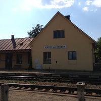 Photo taken at Železničná zastávka Kláštor pod Znievom by Tomáš U. on 8/4/2013