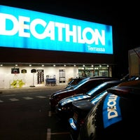 Photo taken at Decathlon by Montse B. on 3/8/2014