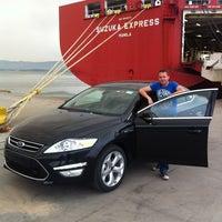 Photo taken at Ford Otosan Liman İşletme by Serdinç G. on 7/30/2013