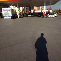 Photo taken at Shell by Ali B. on 10/20/2013