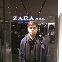 Photo taken at Zara by Avijit C. on 12/28/2013