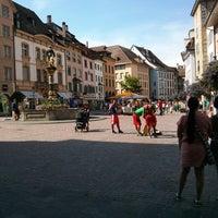 Photo taken at Fronwagplatz by Ievgeniia K. on 6/15/2013