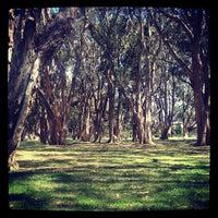 Photo taken at Centennial Park by Josua B. on 10/20/2012