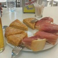 Photo taken at Café Bar El Mirabrás by Christian C. on 6/7/2015