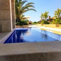 Photo taken at Romanos Costa Navarino Pool by George ⚓️ L. on 6/7/2014