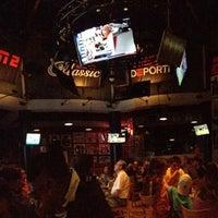 Photo taken at ESPN Club by Ashley N. on 6/9/2013