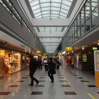Photo taken at Düsseldorf Airport (DUS) by Kevin M. on 6/29/2013