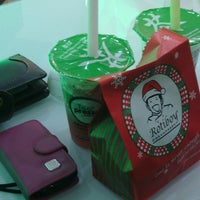 Photo taken at Tea Presso Java Supermall by nina f. on 1/2/2014
