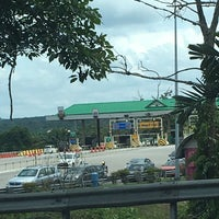 Photo taken at Plaza Tol Ayer Hitam by Andrew D. on 11/4/2017