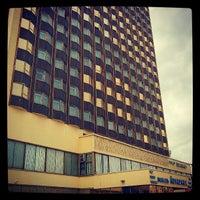 Photo taken at Гостиница Луганск / Hotel Lugansk by Andrii I. on 6/19/2013