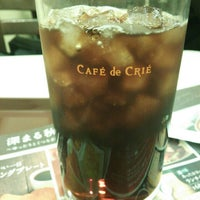 Photo taken at CAFÉ de CRIÉ 赤坂山王店 by よっすぃ~ on 11/1/2013