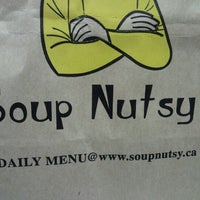 Photo taken at Soup Nutsy by Sara B. on 10/17/2012