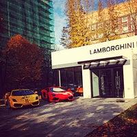 Снимок сделан в Lamborghini Moscow пользователем Eugene T. 10/17/2013
