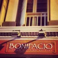 Photo taken at Bonifacio Modern Filipino Cuisine by Glence S. on 2/10/2013