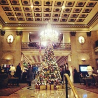 Photo taken at The Roosevelt Hotel by Ben W. on 11/27/2012