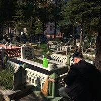 Photo taken at Karaağaç Mezarlığı by Hüseyin Burak B. on 11/3/2017