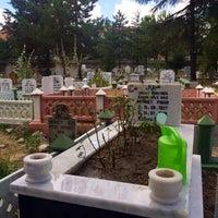 Photo taken at Karaağaç Mezarlığı by Hüseyin Burak B. on 7/28/2017
