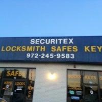 Photo taken at Securitex Locksmiths by Dianne A. on 6/29/2013