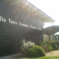 Photo taken at Julia Yates Semmes Branch Library by Crystal W. on 9/29/2014