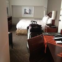 Photo taken at Hilton Seattle by Jen T. on 8/11/2013