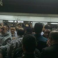 Photo taken at Al Shohadaa Metro Station by Mohamed E. on 11/25/2013