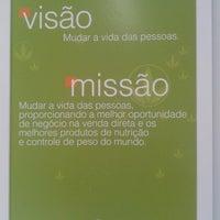 Photo taken at EVS - Espaço Vida Saudável Herbalife by Lucas N. on 4/2/2014
