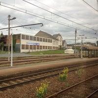 Photo taken at Gare SNCF de La Souterraine by Thibault d. on 5/12/2013