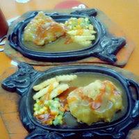 Photo taken at steak bento graha cijantung by prita p. on 3/16/2013