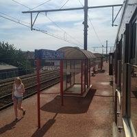 Photo taken at Gare de Flémalle-Grande by Pascal K. on 7/27/2013