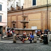 Photo taken at Piazza della Madonna di Loreto by Igor F. on 6/13/2014