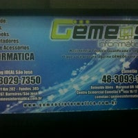 Photo taken at Gemeos Informatica by Nykinha V. on 6/25/2013