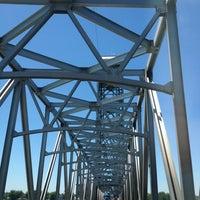 Photo taken at Rio Vista Bridge by Bribri H. on 7/5/2013