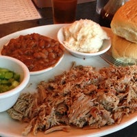 Photo taken at The Pit Authentic Barbecue by Griffe on 7/12/2013