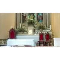 Photo taken at Igreja Matriz Nossa Senhora da Conceição - Itabaiaba-PB by Mailson N. on 8/6/2014