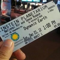 Photo taken at Albert Einstein Planetarium by Kamarul A. on 12/23/2012