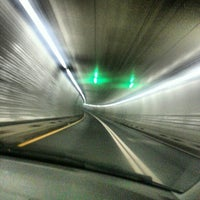Photo taken at Baltimore Harbor Tunnel by Kamarul A. on 12/24/2012