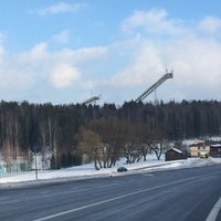 Photo taken at Раубичи, Каток by Дмитрий Х. on 2/1/2015