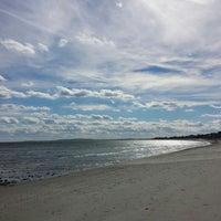 Photo taken at Green Harbor Beach by Robert H N. on 10/26/2013