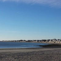 Photo taken at Green Harbor Beach by Robert H N. on 11/23/2013