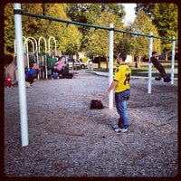 Photo taken at Owen Park by Nichole B. on 9/29/2012