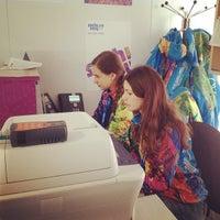 """Photo taken at Пресс-центр СБК """"Санки"""" / Press Center @ Sanki Sliding Center by Анастасия Б. on 2/9/2014"""