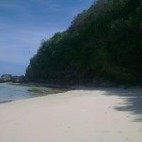 Photo taken at Pandawa Beach by Bender on 5/24/2014