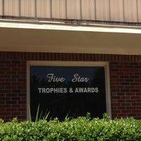 Photo taken at Five Star Trophies & Awards by 👻 Christine H. on 9/25/2013